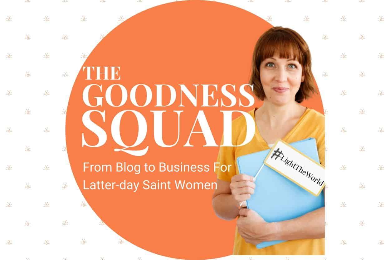 goodness squad podcast cover