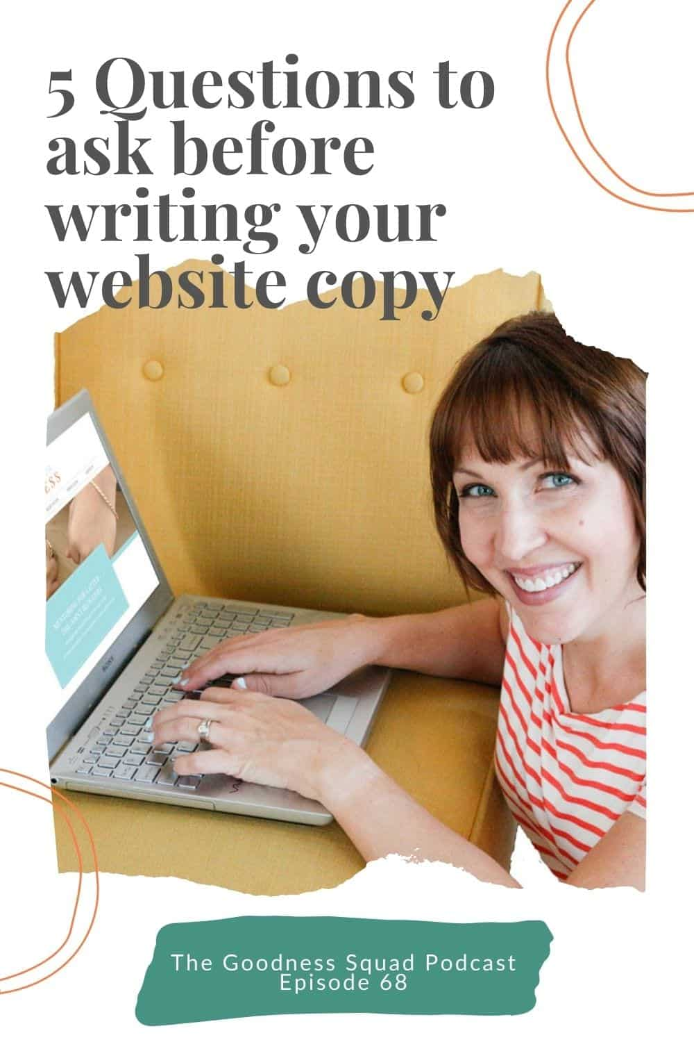 068_5 Questions you must answer before you write copy for your website