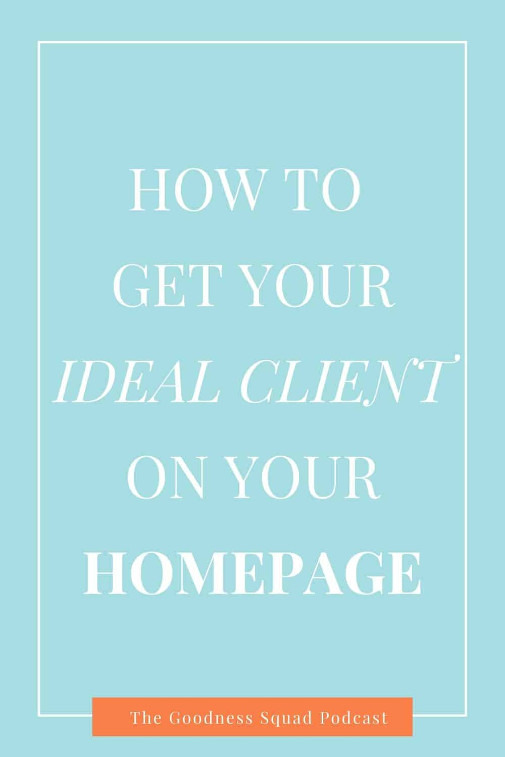 093_5 tips to get your ideal client to visit your homepage