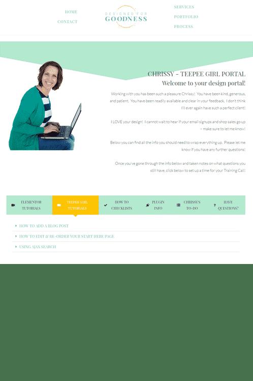 Video Tutorials Specific To Your Website